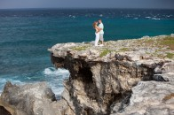 Couple at Punta Sur on Isla Mujeres