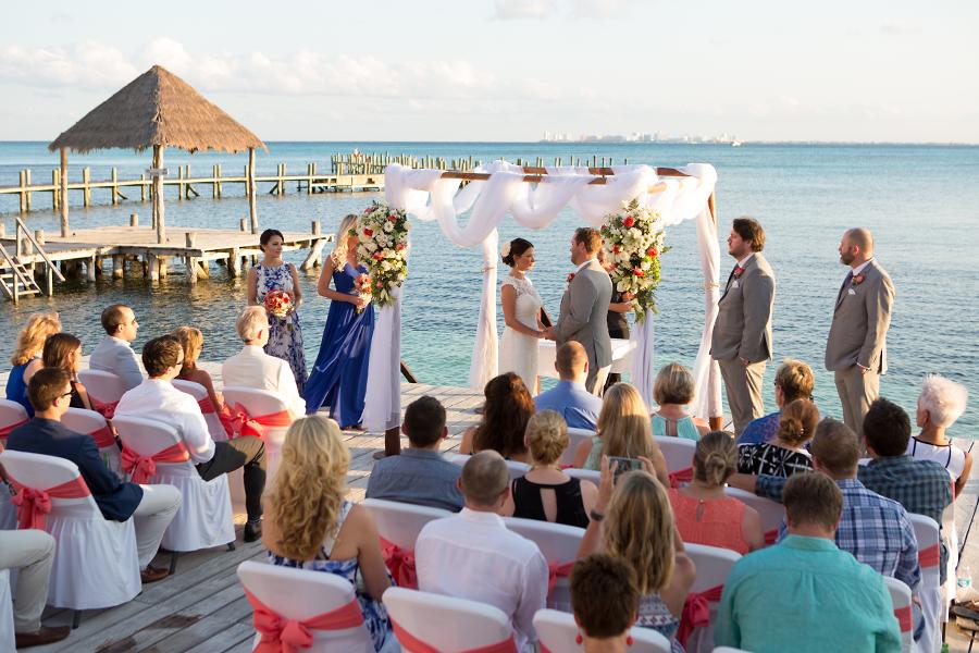 Casa de los suenos wedding isla mujeres for Casa de los suenos